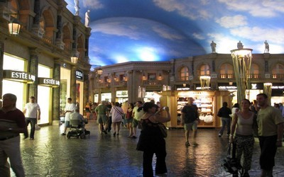 Forum Shopping au Caesars Palace Las Vegas