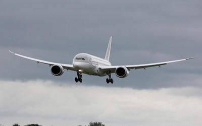 Dreamliner ou Boeing 787 en démonstration (photo aeroweb-fr.net)