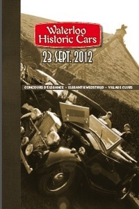 Belgique:  3ème Edition du Waterloo Historic Cars