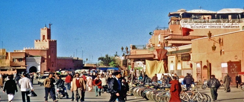 la place Jemaa El Fna (Marrakech) Copyright Jean-Claude Allin