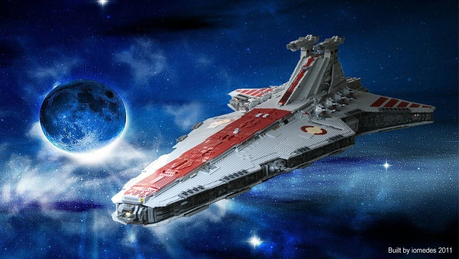 Photo du Venator Class Star Destroyer (Copyright Toys'R'US)