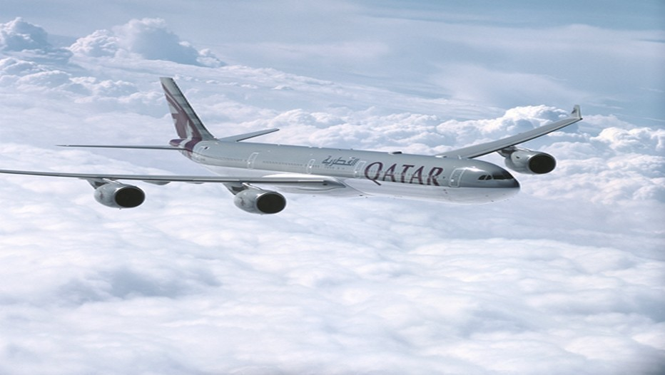 Copyright Qatar Airways A -340