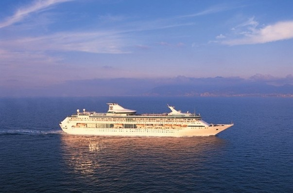 "Navire ""Legend of the sea"" du croisiériste  Royal Caribbean  (Photo LD)"