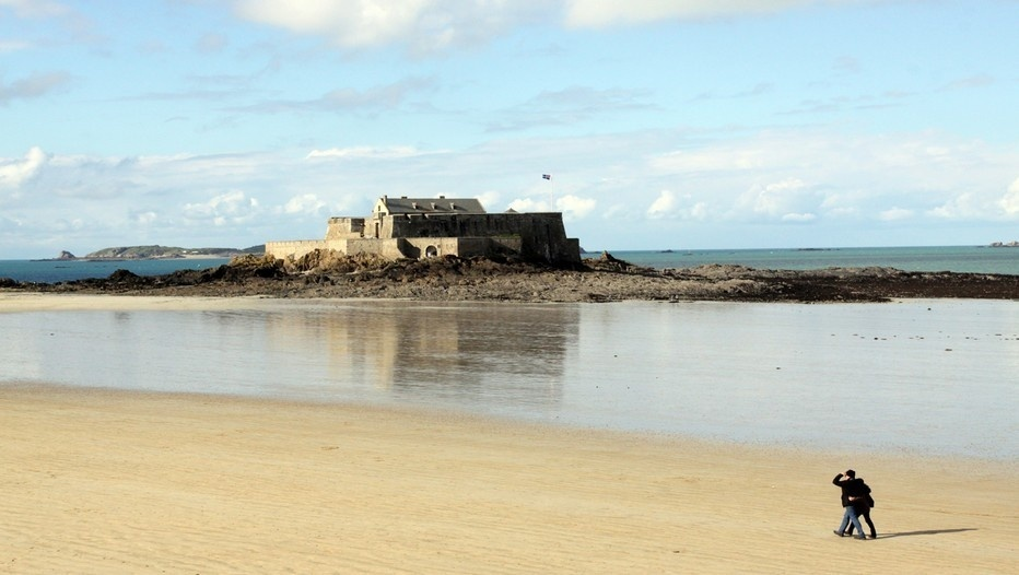 Le Fort national à Saint-Malo.(Photo David Raynal)