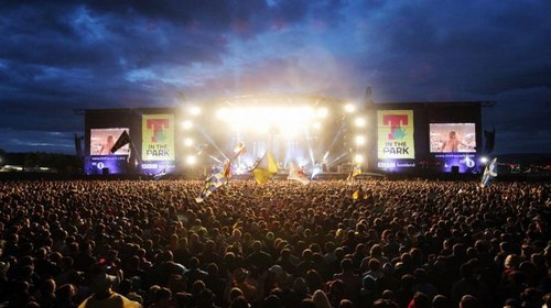 T in the Park est le plus gros festival musical d'Ecosse. (Crédit photo www.tinthepark.com)