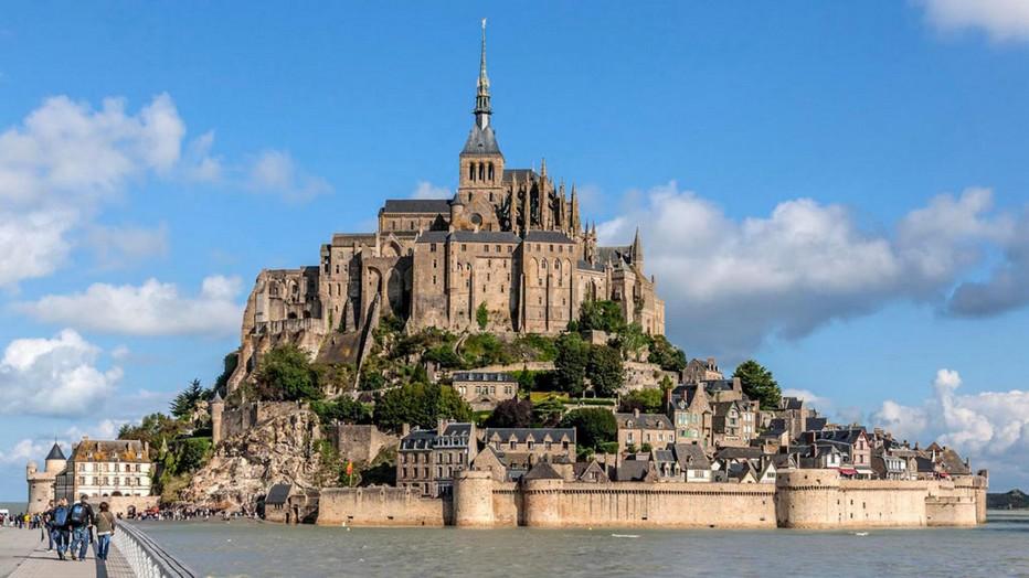 Arrivée en navette au Mont St Michel   © probaie-mont-st-michel- Vincent M.