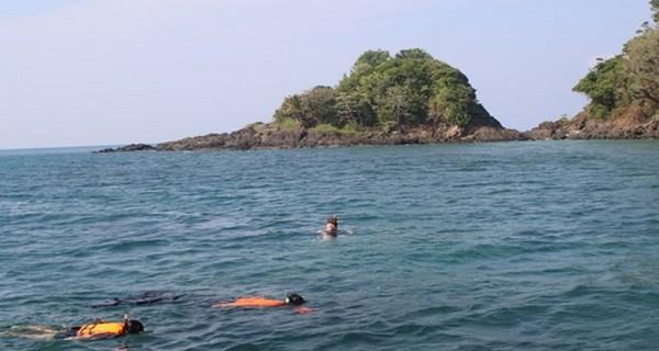 Dans les îles Vierges, également protégées avec leurs criques, leurs plages de sable et leurs fonds coralliens.  © Patrick Cros