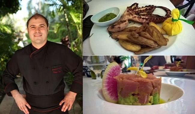 Sous la direction du Chef étoilé Michelin Grégory Pugin, le Palme d'Or, le restaurant gastronomique de l'hôtel a reçu les honneurs du guide Zagat en 2013 et demeure le seul 5 étoiles AAA dans toute la Floride.  © David Raynal