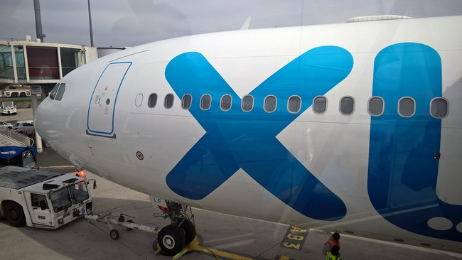 Le nez de l'avion de la Compagnie Miami XL. © David Raynal