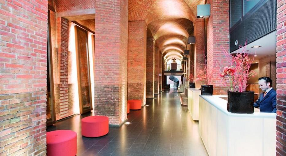La magnifique réception de l'Hôtel Mövenpick Hamburg. © mövenpick.com