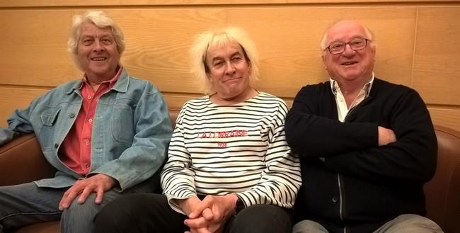 Interview à trois voix avec les figures de proue de la musique bretonne, avant leur concert parisien de l'Alhambra les 4 et 5 octobre prochains, qui célèbre leur 45 ans de carrière.   © David Raynal