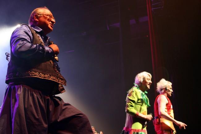 Tri Yann sur la scène de l'Olympia  © David Raynal