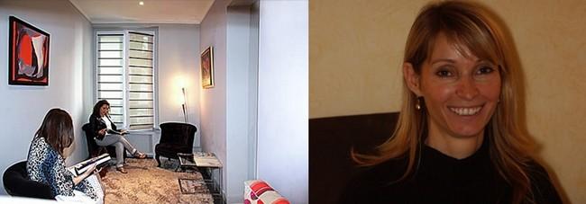 La photo et le cabinet d'attente du Dr Anne Grand-Vincent.   © Anne Grand-Vincent