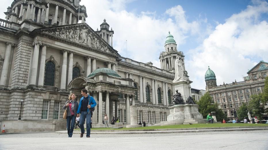 Hôtel de ville de Belfast (City Hall)  © ireland.com