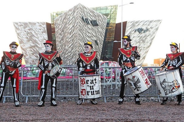 Belfast fête comme il se doit Halloween qui correspond au Nouvel an celte !  © DR