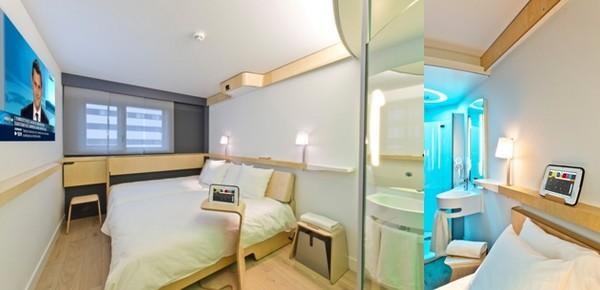 Chez NOMAD Hotels, la technologie se met au service du client pour simplifier son parcours et faciliter son séjour.  © Nomad-Hôtels