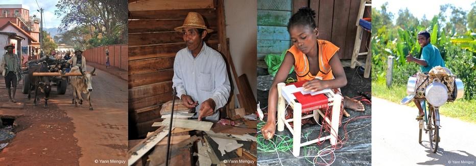 Ecotourisme et séjours solidaires sont proposés par de nombreux voyagistes ainsi vous pouvez partager les activités artisanales de la population.  © Yann Menguy
