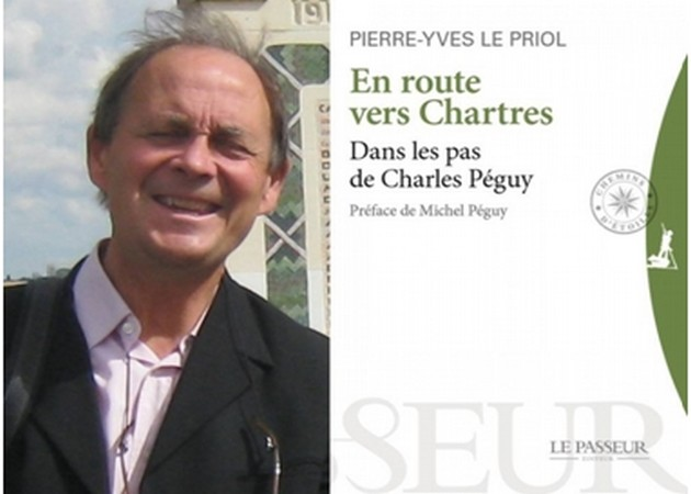 Ce livre est un récit de voyage. Charles Péguy a entrepris un pèlerinage vers Chartres en 1912-1913 à l'époque de sa crise de milieu de vie.  © Editions Le Passeur