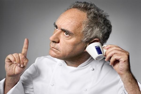 Ferran Adrià, passé maître en cuisine moléculaire séduit par la marque se lance dans une création faite de notes subtiles et parfumées.© Martin Schoeller