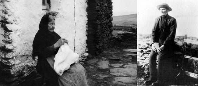 Conscients que leur mode de vie était sur le point de disparaître, certains habitants des îles Blasket, notamment Tomás Ó Criomhthain et l'écrivaine Peig Sayers, décidèrent de coucher leurs mémoires sur le papier.©