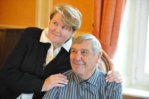 Maryvonne Daval et son époux Bernard Bongeot ont poursuivi inlassablement le travail du couple Marcel et Élisabeth Daval. ©Noëlla Barras