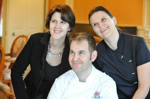 Les enfants Bongeot, Jennyfer, Cédric et Karelle, ont pris officiellement les rênes de l'entreprise familiale en 2011. ©Noëlla Barras