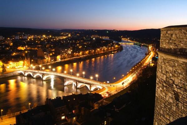 Namur est  la capitale de la Wallonie depuis 1986. Crédit photo J.L. Flémal.