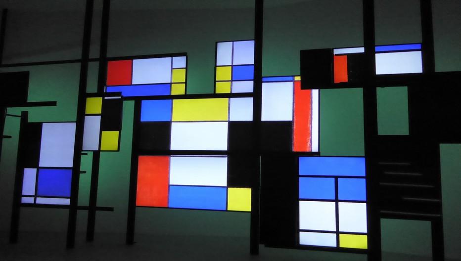Vidéo Maison de Mondrian © Catherine Gary
