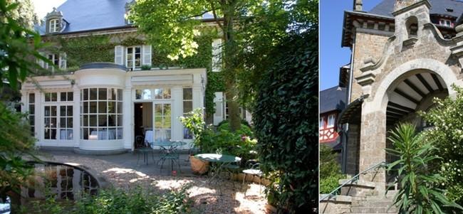 La maison de Bricourt est désormais le sanctuaire où Olivier Roellinger  crée ses nouvelles compositions d'épices. Crédit photo David Raynal