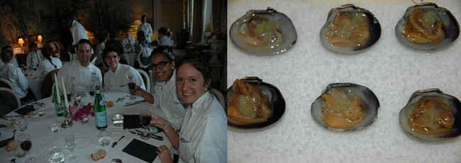 Porté par l'univers d'Olivier Roellinger, l'ambition de l'Ecole de cuisine corsaire à quelques pas de la Maison de Bricourt à Cancale est de transmettre des savoirs et des savoir-faire autour des produits de la mer, du potager et des épices. Crédit photo D.R.
