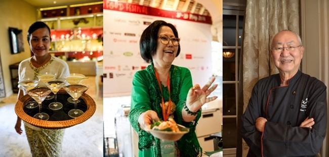 Un festival en présence de  chefs de grand renom dont Adhika Maxie, Fernando Sindu ou Ragil Imam Wibow, Ibu Sisca Soewitomo, la jeune et prometteuse Farah Quinn ou encore le chef William Wongso, l'ambassadeur de la cuisine indonésienne.  © www.Ubudfoodfestival.com