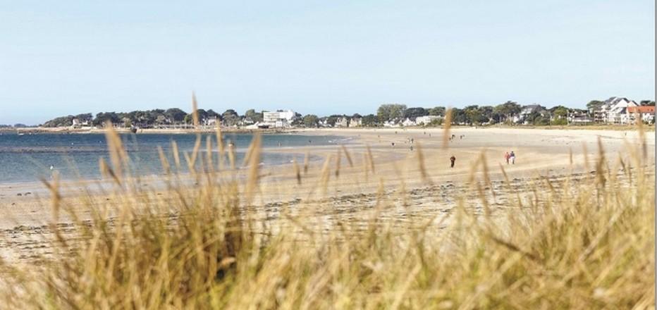 Une magnifique plage borde la ville de Carnac   © www.ot-carnac.fr