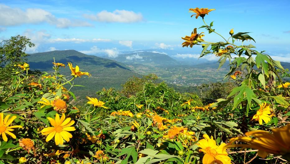 La province de Loei est une région montagneuse aux fortes variations climatiques. © David Raynal