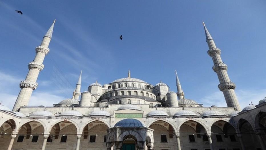 La Mosquée Bleue achevée en 1616.© C.Gary