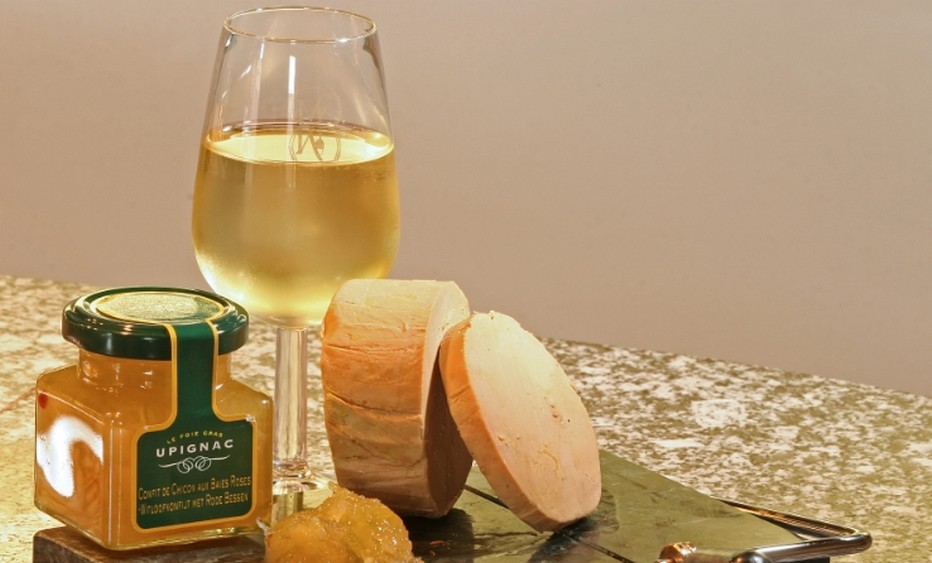 Une spécialité d'Upigny - Le Foie Gras Upignac. (c)WBT-GabrieleCroppy