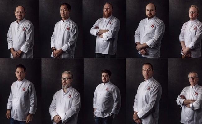 10 chefs par soir pour deux dîners de gala © www.wfoodfestival.be