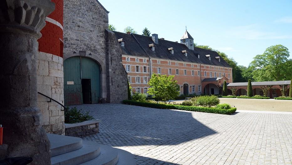 En Wallonie l'abbaye des moines trappistes de  Rochefort © David Raynal