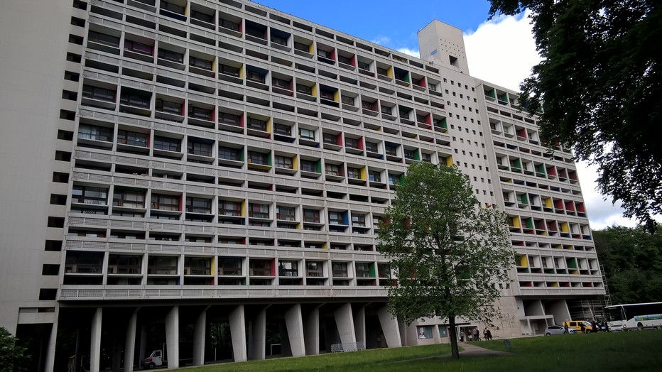 Le Corbusier, la Cité radieuse de Briey. Crédit photo David Raynal