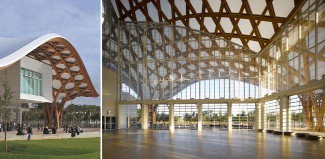 Le Centre Pompidou de Metz. Crédit photo D.R.