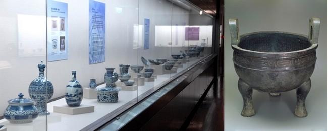 Les bronzes et jades du Néolithique, les céramiques Tang, les peintures Song sont époustouflants et font partie aujourd'hui des richesses du Musée national du Palais de Taïpei          © Musée National du Palais