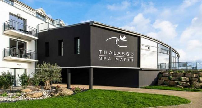Le prestigieux Thalasso -Spa marin-Resort*** à Concarneau.© DR