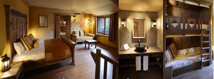 Grâce à l'ouverture de l'hôtel La Citadelle, Le Puy du Fou porte désormais sa capacité hôtelière à plus de 400 chambres et 2000 lits.Crédit photo Le Puy du Fou D.R.