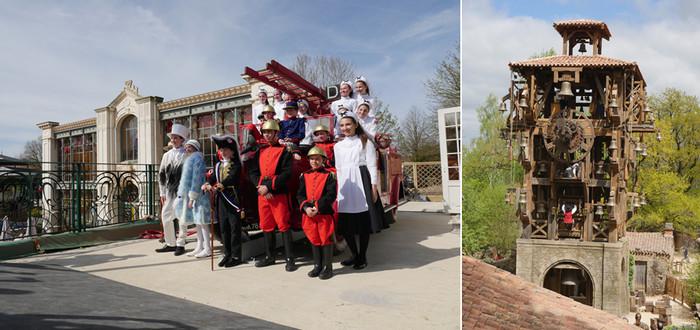 Catte année, Le Puy du Fou présente également deux nouvelles créations originales : « Le Ballet des Sapeurs » et « Le Grand Carillon » qui font la part belle à la musique et aux effets spéciaux.Crédit photo Le Puy du Fou D.R.