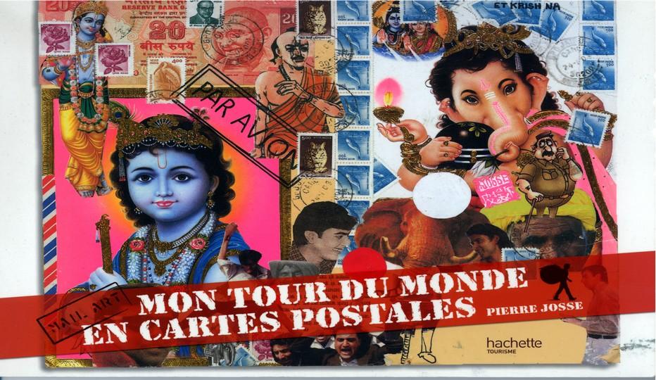 Sorti il y a quelques années aux éditions Hachette, «Mon tour du monde en cartes postales » présente une sélection de 25 cartes postales qui symbolisent chacune une destination du monde.