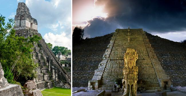 L'une des étapes indispensables dans la découverte de la civilisation Mayenne est sans aucun doute la visite du site du grand Tikal dans la région de Petèn au Guatemala. D.R.