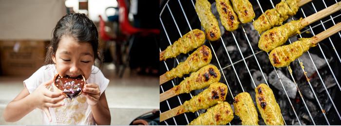 En dehors de la découverte des spécialités culinaires incontournables de l'archipel (Rendang, Sate Ayam, Nasi Goreng, Bakmi Goreng, Nasi Kuning), une multitude d'animations ponctueront ces trois journées sur le stand © O.T. Wonderfull Indonesia