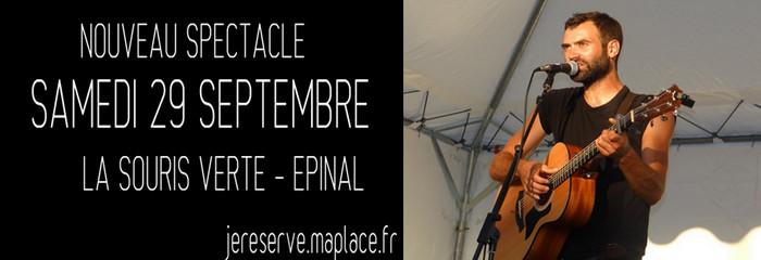 Avec énergie et charisme, l'artiste lorrain sera présent en concert chez lui dans les Vosges à Épinal, le vendredi 29 septembre 2017. ©Bertrand Munier