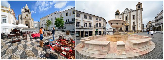 les villes comme Elvas et Évora, classées patrimoine mondial par l'UNESCO, démontrent l'âpre ténacité de leurs habitants..© David Raynal