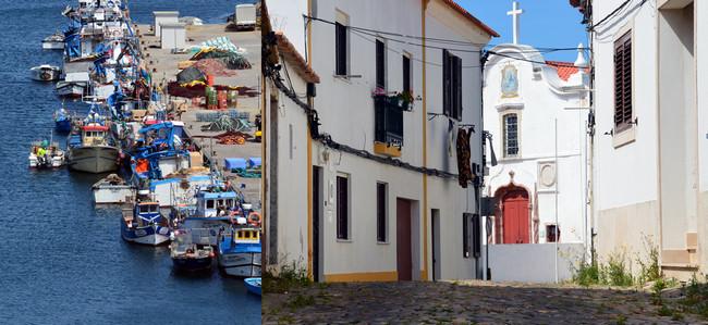 Sines est une ville portuaire au centre de la côte sud-ouest du Portugal..© David Raynal