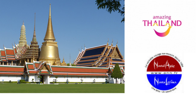 Le grand palais à Bangkok (Thaïlande) © C.Gary